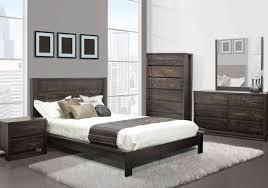 ameublement chambre cuisine mobilier bois gris neutre moderne froid cocon lit hotel