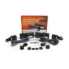 amazon com startech com long range usb vga kvm console extender