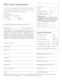 best photos of free printable commercial lease agreement free