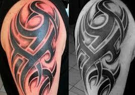 shading around tribal tattoos tribal designer tattoos chest