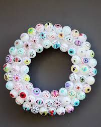25 modern halloween wreaths to diy now brit co