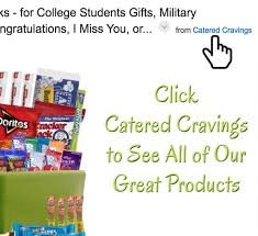 halloween gift baskets for college students amazon com catered cravings sweet and salty snacks gift basket