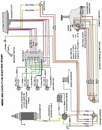 mercury outboard wiring diagram schematic mercury outboard wiring