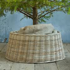 tree basket skirts happy holidays