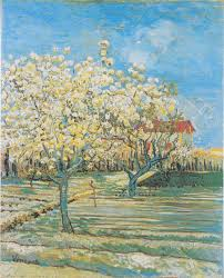 vincent van gogh flowering orchard april 1888 private