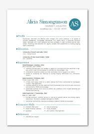 contemporary resume templates resume templates word impressive