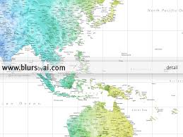personalized world map printable art highly detailed printable
