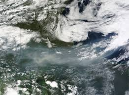 Canada Forest Fire Map by Smoke From Fires In Canada Natural Hazards