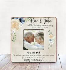 anniversary gift for parents parents anniversary gift parents 40th wedding anniversary gift