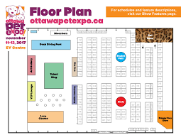 Dog Daycare Floor Plans by Ottawa Pet Expo Floor Plan