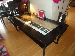 piano keys make great coffee tables the piano gal shop