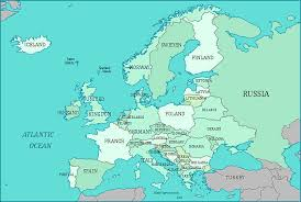map to europe map of europe europe major tourist attractions maps