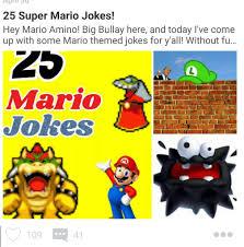 20 more super mario jokes mario amino