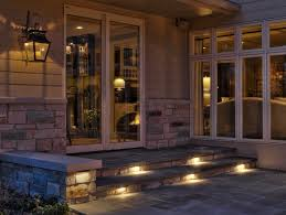 Outdoor Patio Wall Lights Lights In Step House Exterior Pinterest Patio Lighting