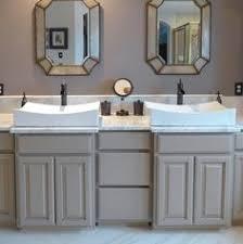 Carrara Marble Bathroom Countertops Mix U0027n U0027 Match Gray Striato Formica Solid Surface Countertop And