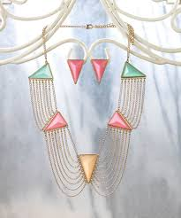 modern art deco jewelry set wholesale at koehler home decor
