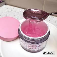 D Collagen collagen wrapping mask for nourishing firming and