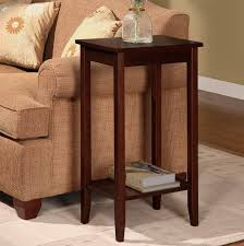 rosewood tall end table coffee brown winston porter noble rosewood tall end table reviews wayfair