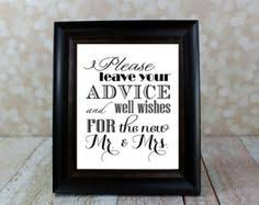 Wedding Wishes And Advice Cards Letterpress Advice Cards Bride And Groom Pack Of 10 Trouw