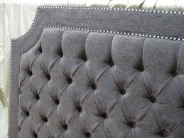 Grey Tufted Headboard Grey Tufted Headboard Doherty House Grey Tufted