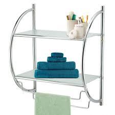 Corner Bathroom Shelves Bathroom Adjustable Glass Shelf Brackets Floating Glass Shelf