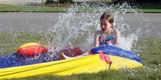 Backyard Slip N Slide 30 Fun Things To Do In Your Backyard