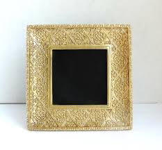 gold frame gold wedding decor vintage frame gold home