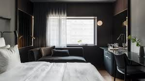 interior design curbed 70s brutalist high rise becomes swanky hotel in stockholm
