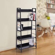 rangement livre chambre homcom etagère bibliothèque meuble rangement à livres de chambre