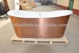 antique copper bathtub freestanding cast iron bathtub luxury