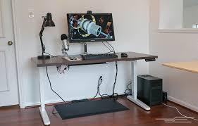 creative of ikea standing desk motorized bekant desk sitstand
