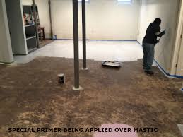 attractive design best choice for basement flooring flooring paint