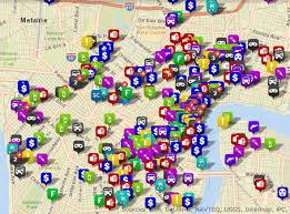 orleans map nopd crime data crime map city of orleans