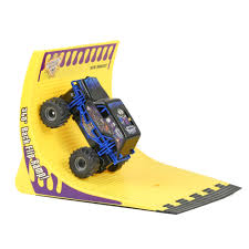 monster jam grave digger remote control truck new bright 1 43 scale r c monster jam sonuva digger 360 flip set