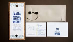 wedding invitations cork cork wedding invitation suite yet industrial