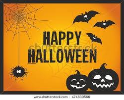 halloween party invitation card stock vector 116152987 shutterstock