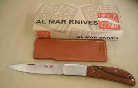 al mar kitchen knives al mar pocket knife eagle classic cocobolo lockback knife am1005