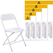 plastic stackable chairs ebay