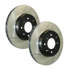 jeep grand rear brakes stoptech slotted rear brake rotors jeep grand srt8 2012
