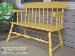 Rustoleum For Metal Patio Furniture - bench slowly faded treasures
