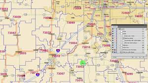 okc zip code map oklahoma zip code map 2015