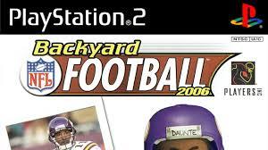 backyard football 2006 playstation 2 gameplay atari 2005 hd