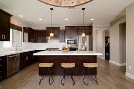 wood kitchen cabinets with white countertops transitional eat in kitchen with white countertops hgtv
