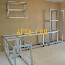 cuisine en aluminium awesome modele de placard pour cuisine en aluminium images