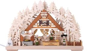 3d double arch christmas bakery 44 29 7 cm 17 11 3in by ratags