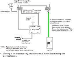 wiring diagram for chamberlain garage door opener wiringdiagrams