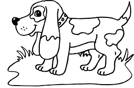 puppy coloring pages free large images new printable dog