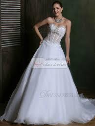corset wedding dress a line tulle sweetheart court transparent corset wedding