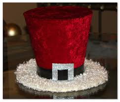 santa claus top hat christmas hat candy cane christmas tree