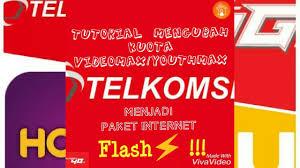 spoof host youthmax telkomsel cara mengubah kuota videomax youthmax menjadi kuota internet flash